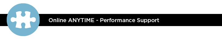 Online ANYTIME - Performance Support